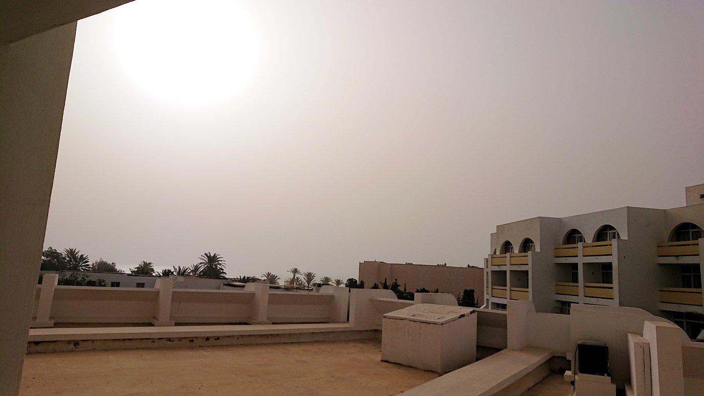 チュニジア:スースのホテルで朝食を6