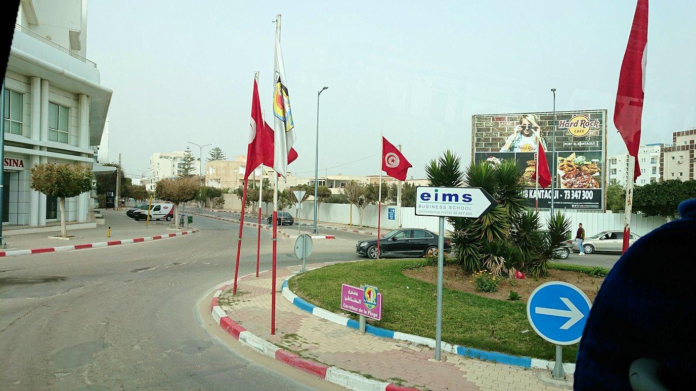 チュニジア:スースのホテルで朝食を8