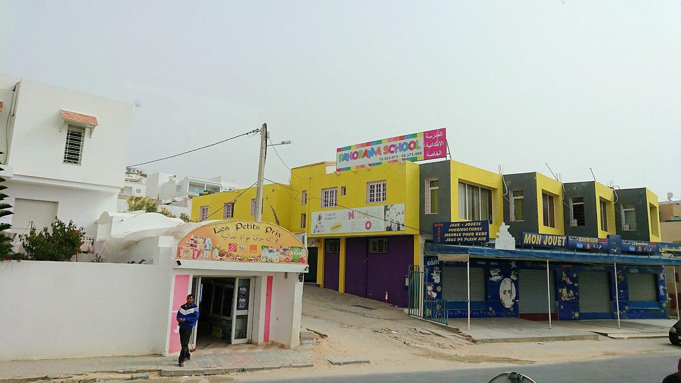 チュニジア:スースからナブールの街まで移動6
