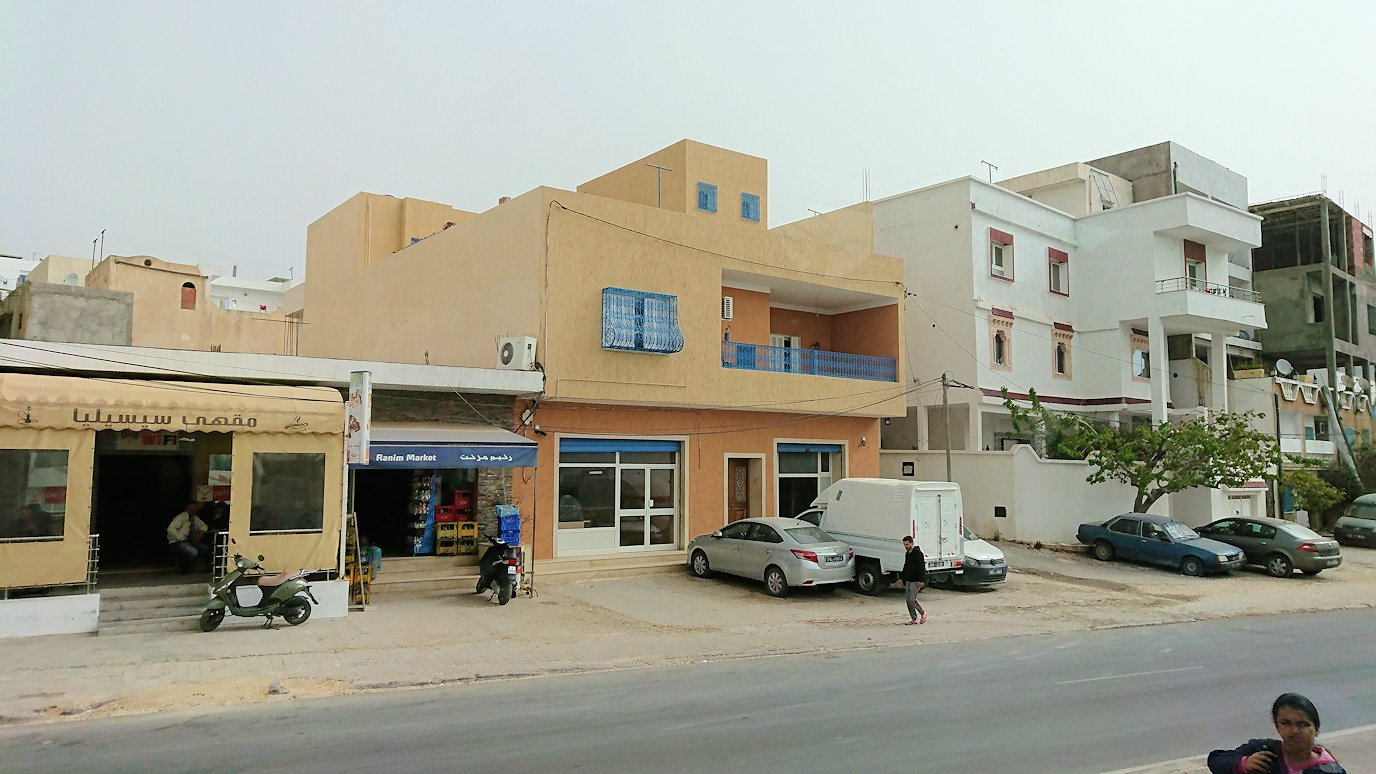 チュニジア:スースからナブールの街まで移動7