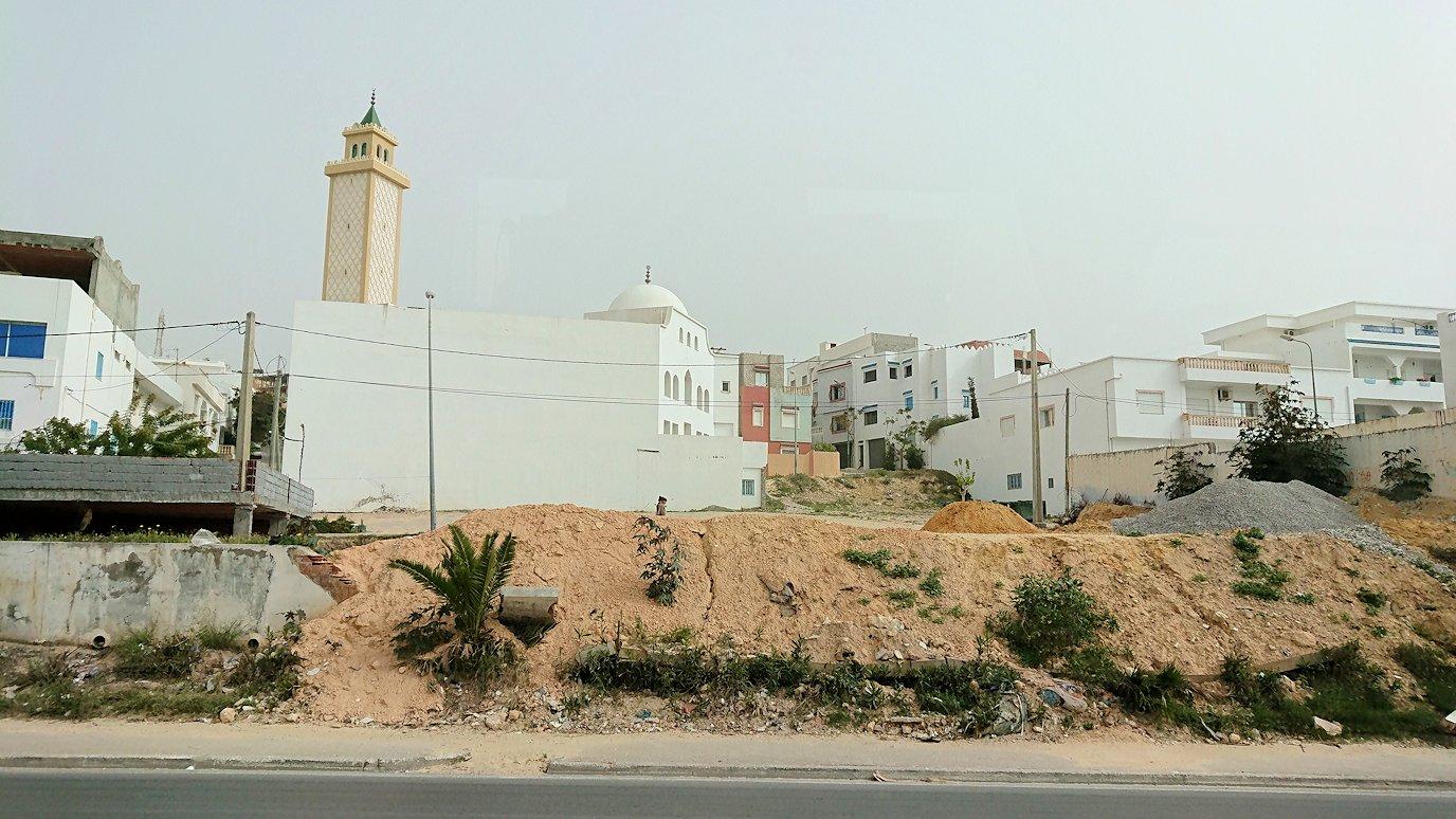 チュニジア:スースからナブールの街まで移動9