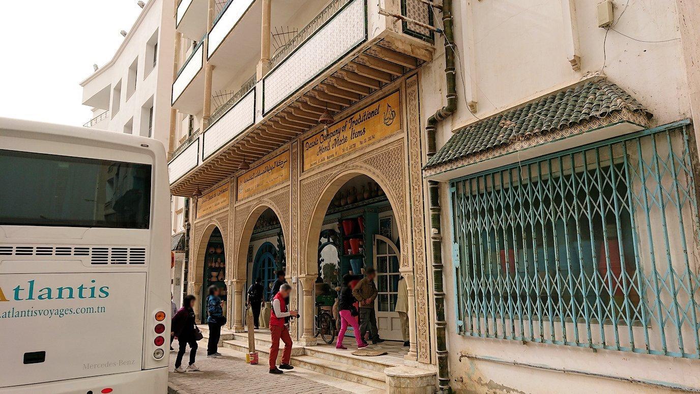 チュニジア:スースからナブールの街まで移動する途中の景色8
