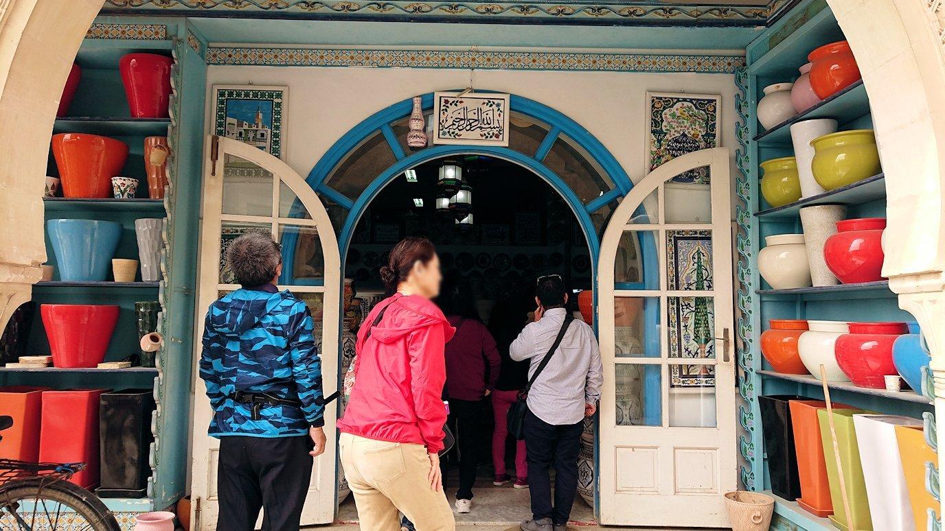 チュニジア:スースからナブールの街まで移動する途中の景色9