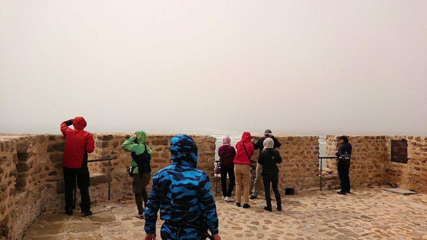 チュニジア:ケリビアの城塞内の様子は2