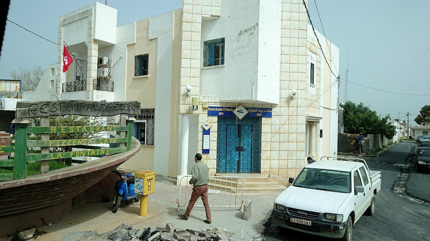チュニジア:ボン岬からケルクアン遺跡に移動1