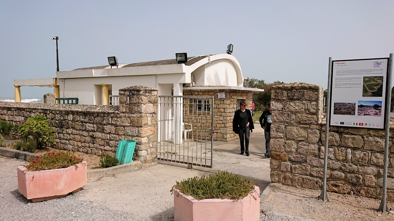 チュニジア:ボン岬からケルクアン遺跡に移動5