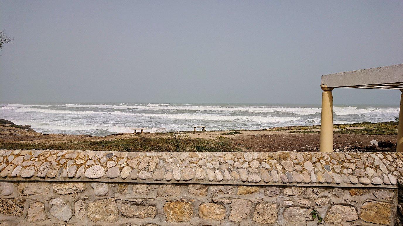 チュニジア:ボン岬からケルクアン遺跡に移動7