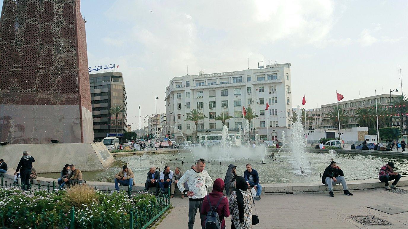 チュニジアのケルクアンからチュニスに移動する4