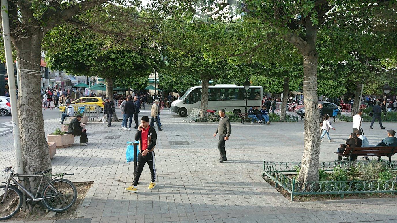 チュニジアのチュニスにあるエルムラディ・アフリカ・ホテルに到着1