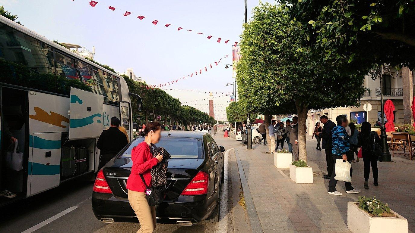 チュニジアのチュニスにあるエルムラディ・アフリカ・ホテルに到着3