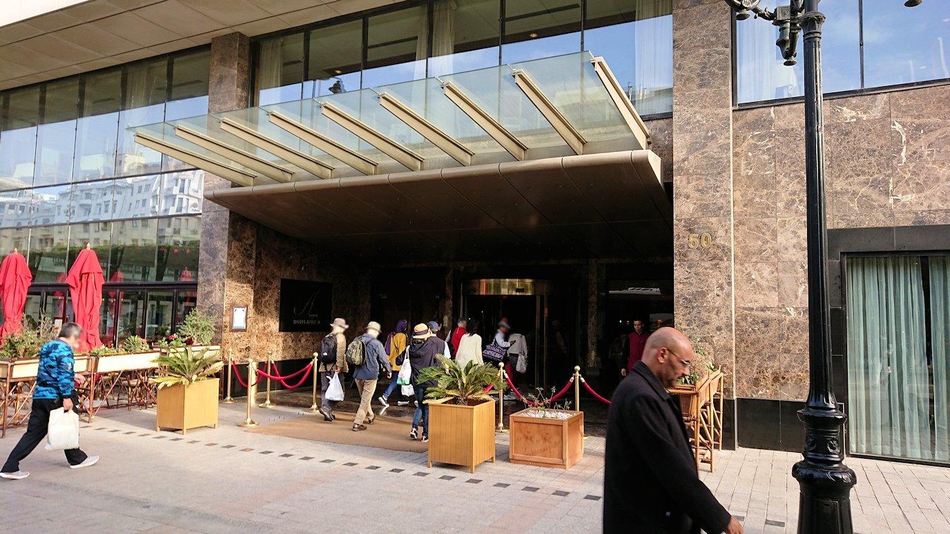 チュニジアのチュニスにあるエルムラディ・アフリカ・ホテルに到着4