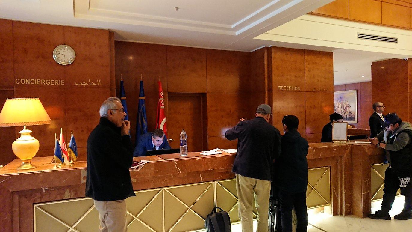 チュニジアのチュニスにあるエルムラディ・アフリカ・ホテルに到着8