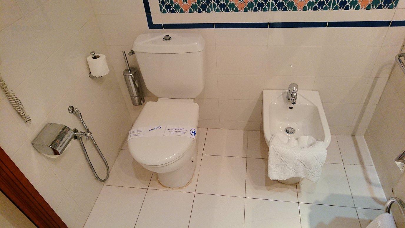 チュニジアのチュニスにあるエルムラディ・アフリカ・ホテルの部屋の様子は?1
