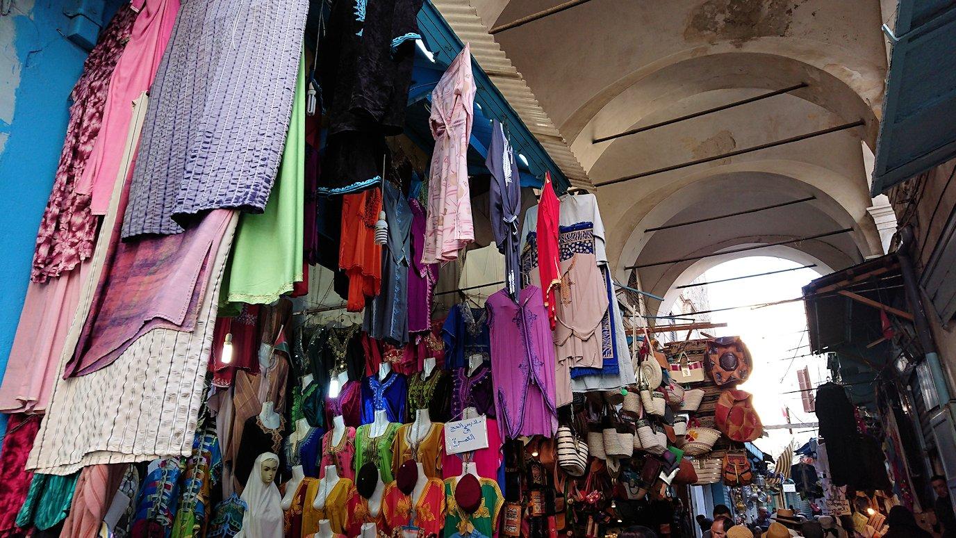 チュニジア:チュニスのメディナに入っていく6