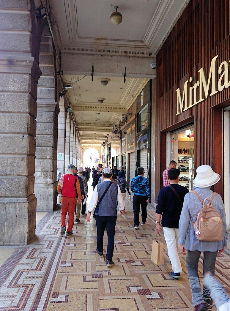 チュニジア:チュニスのメディナの観光を終了しホテルに戻る7