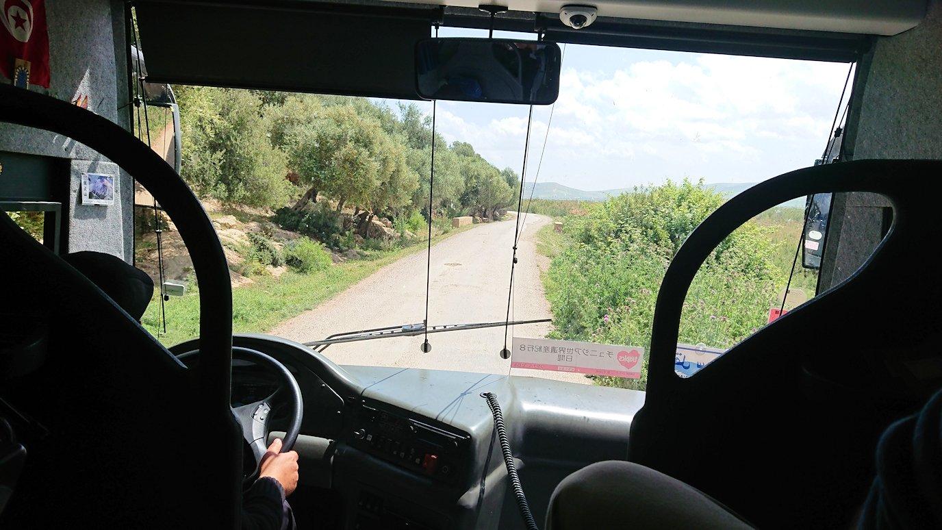 チュニジア:イシュケウル国立公園の敷地内に入る2