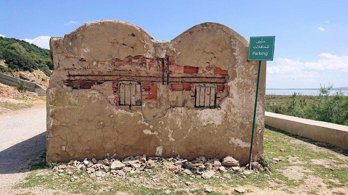 チュニジア:イシュケウル国立公園の敷地内に入る6