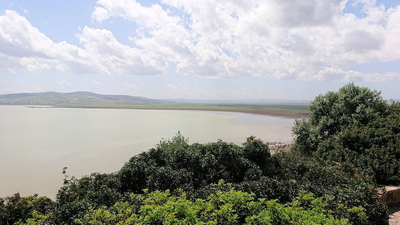 チュニジア:イシュケウル国立公園の頂上で休憩6