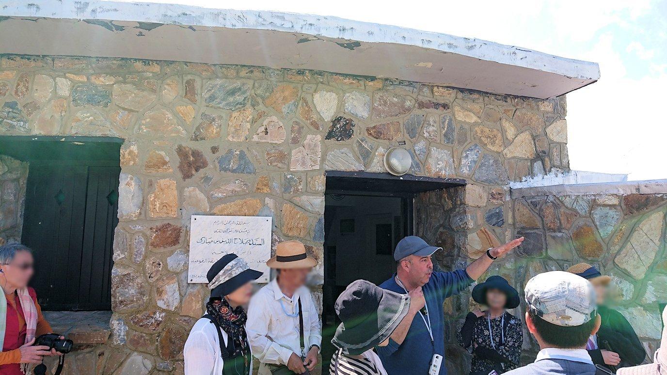 チュニジア:イシュケウル国立公園の頂上の自然博物館にて2
