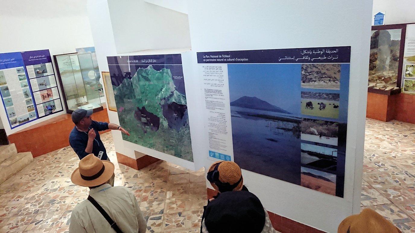 チュニジア:イシュケウル国立公園の頂上の自然博物館にて6