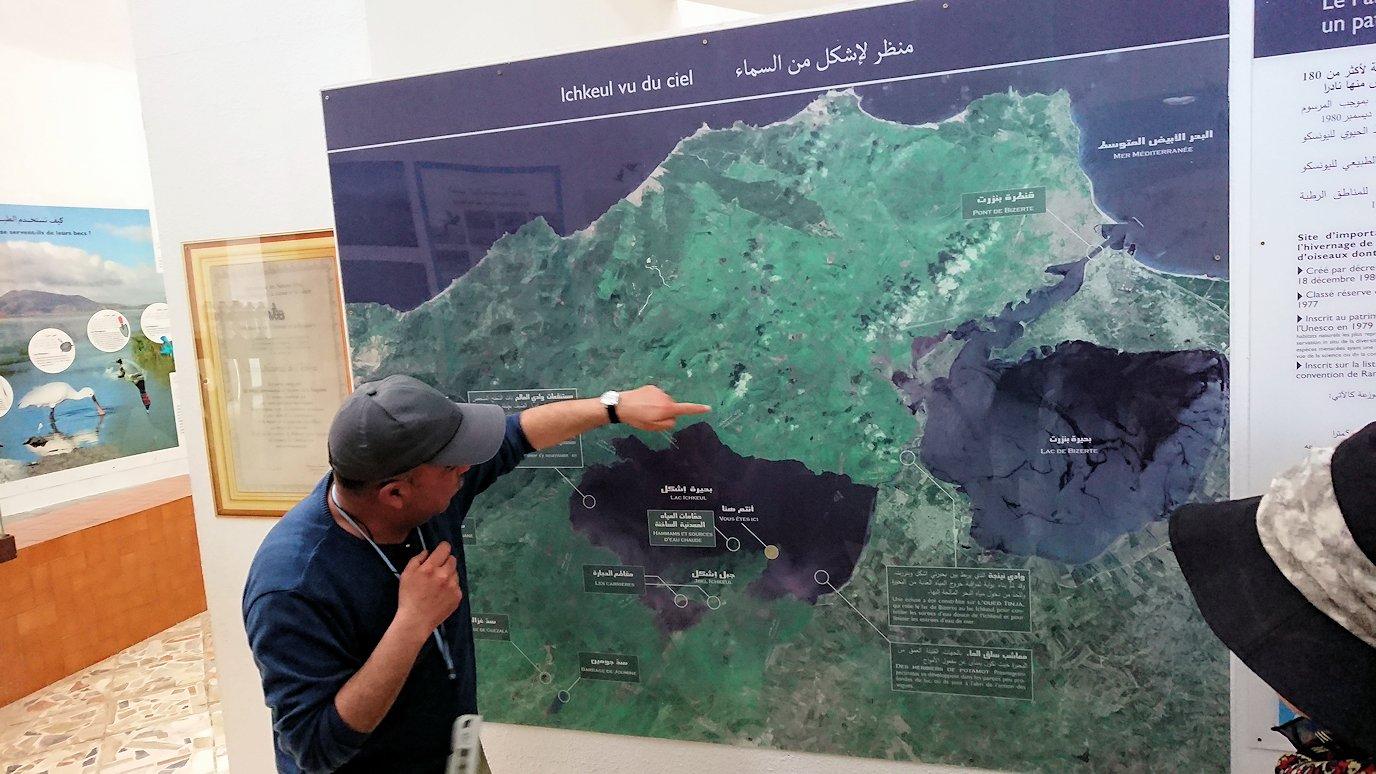 チュニジア:イシュケウル国立公園の頂上の自然博物館にて7