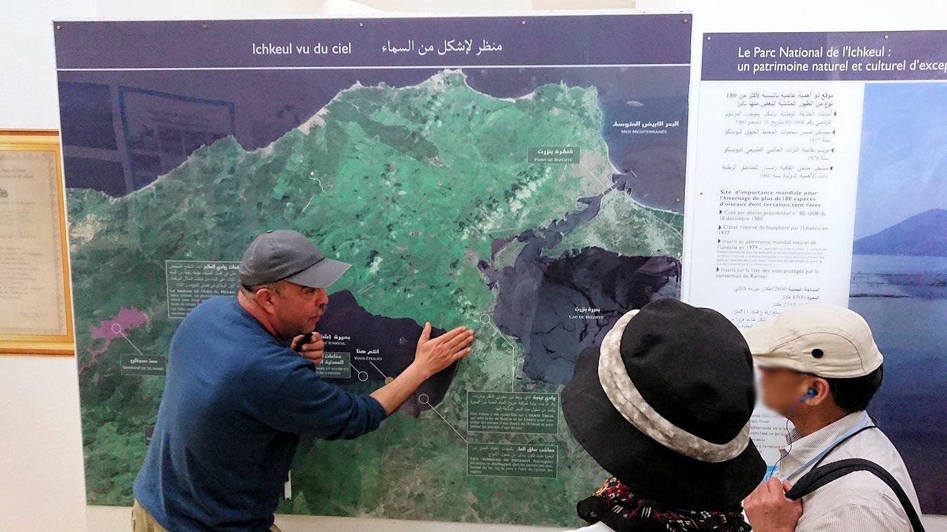 チュニジア:イシュケウル国立公園の頂上の自然博物館にて8