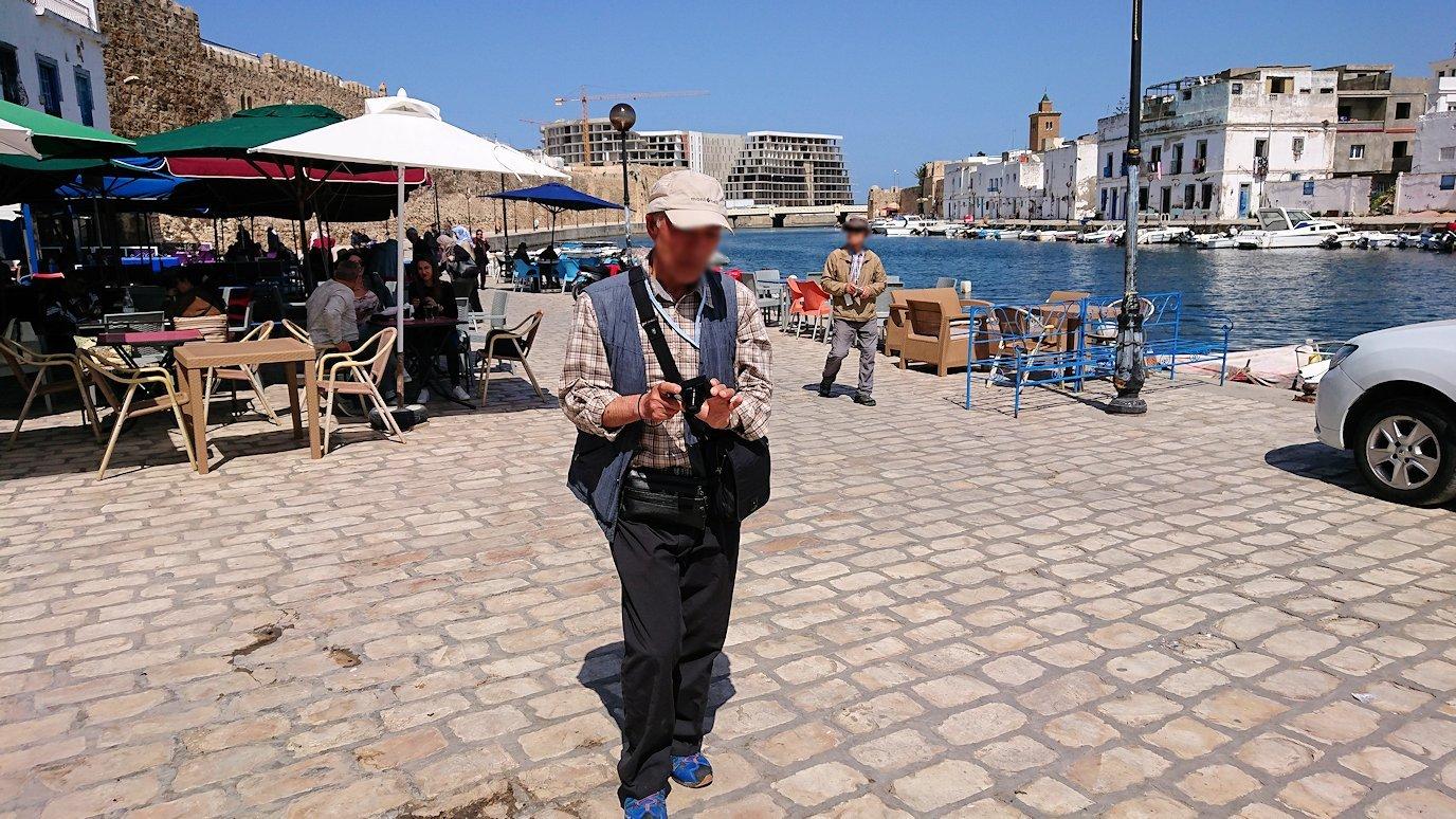 チュニジア:ビゼルトの街で旧港付近を散策4