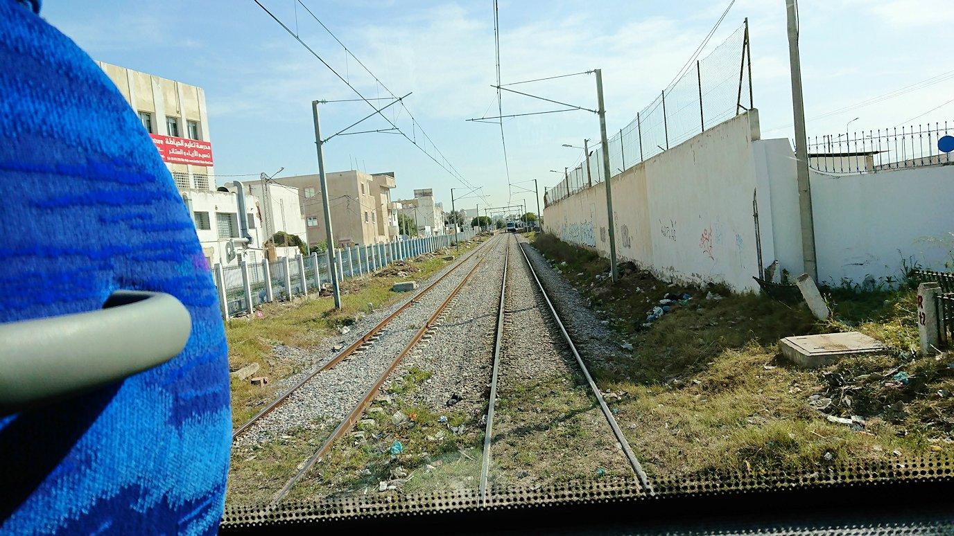 チュニジア:ビゼルトからシディ・ブ・サイドに向かう道中の景色5