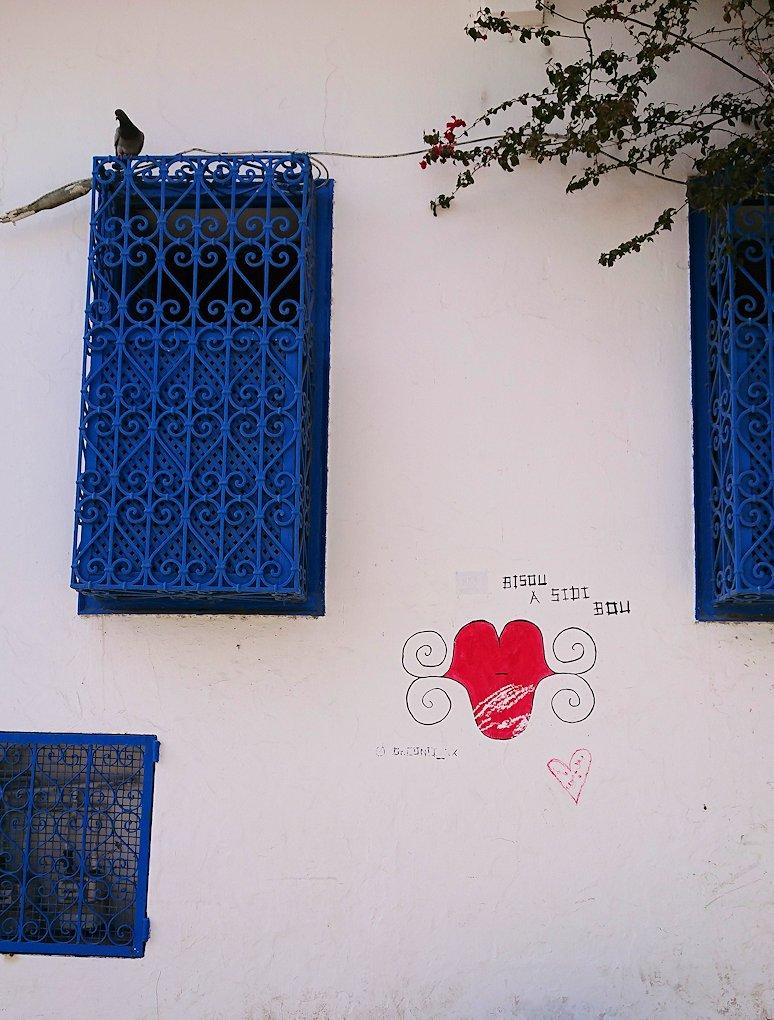 チュニジア:シディ・ブ・サイドの中心へ足を踏み入れる6