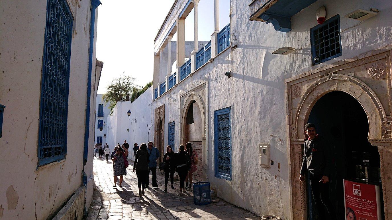 チュニジア:シディ・ブ・サイドで絶景のカフェにて7