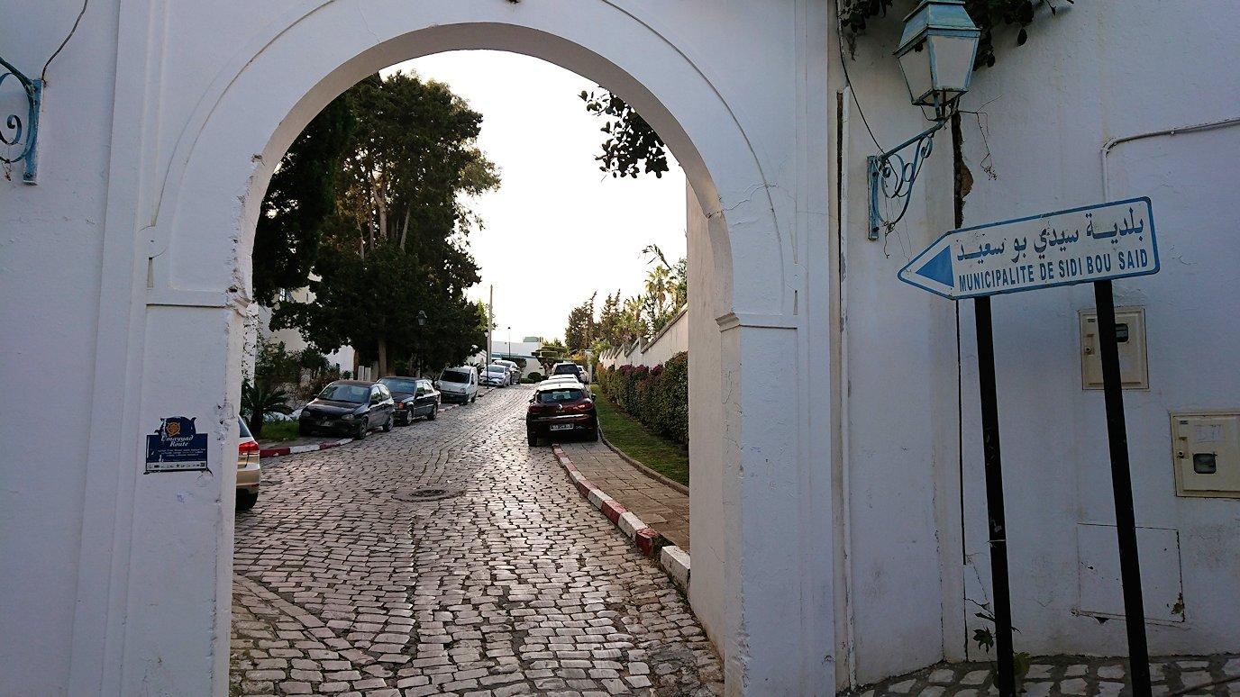 チュニジア:シディ・ブ・サイドで最後まで散策してみる3