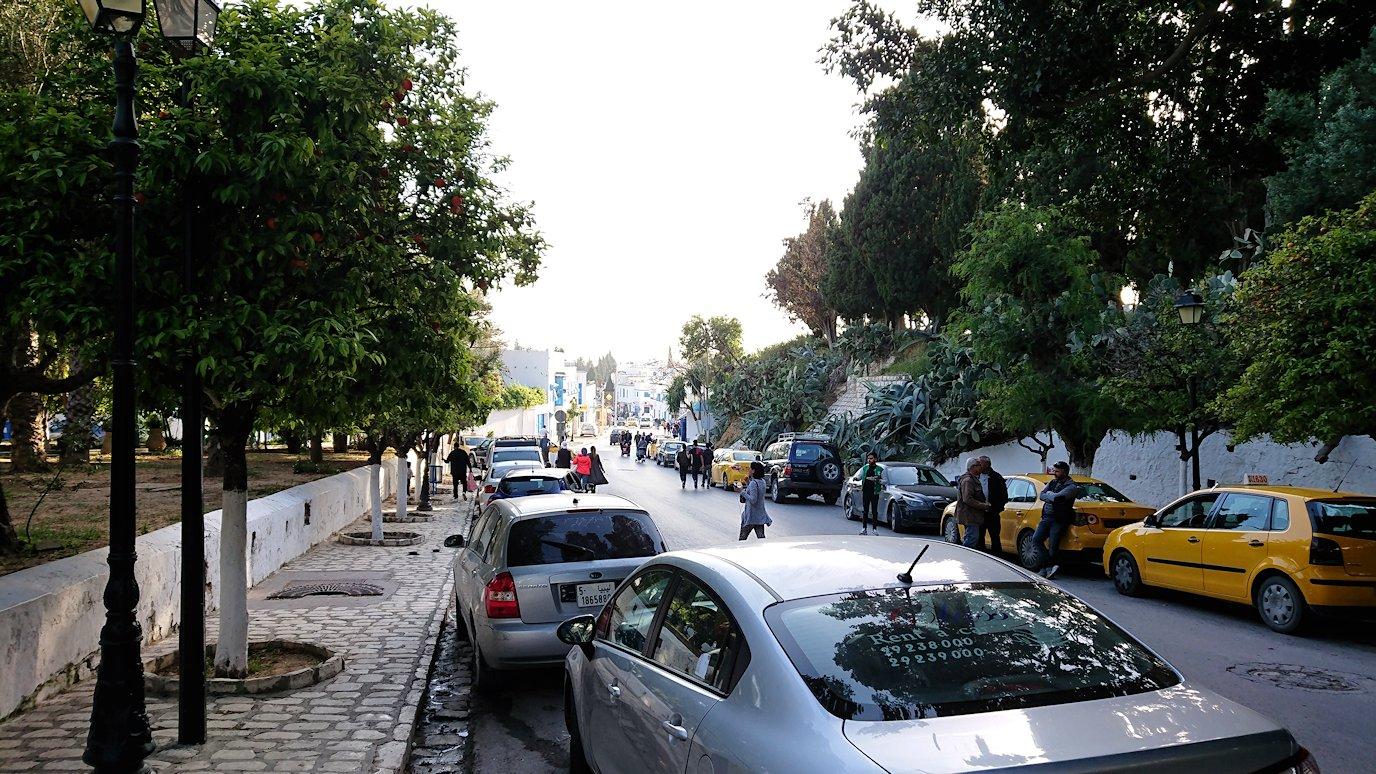 チュニジア:シディ・ブ・サイドで最後まで散策してみる4