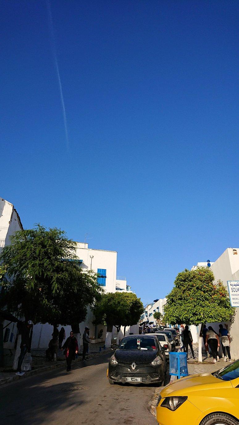 チュニジア:シディ・ブ・サイドでそろそろバスに戻る4