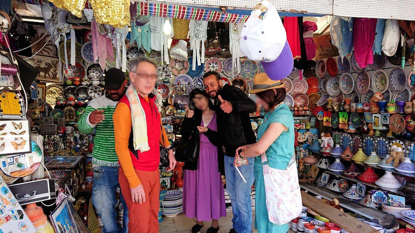 チュニジア:シディ・ブ・サイドでそろそろバスに戻る6