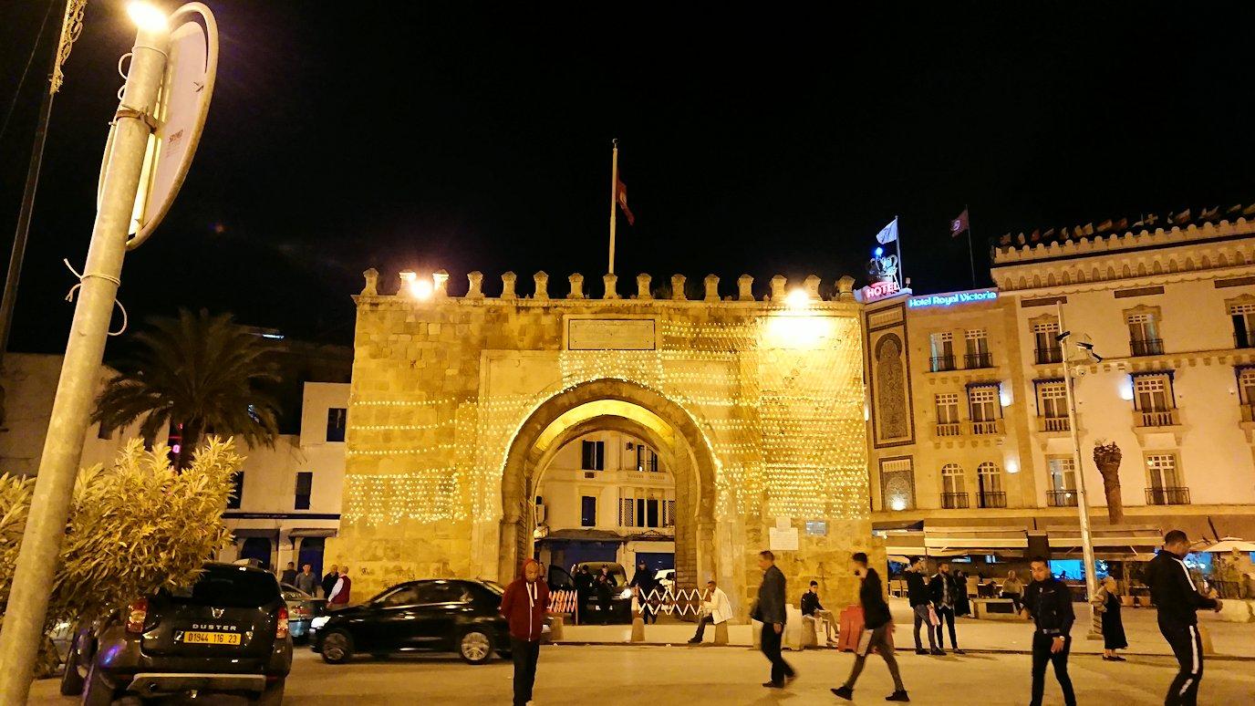 チュニジア:チュニスの夜を散策する5