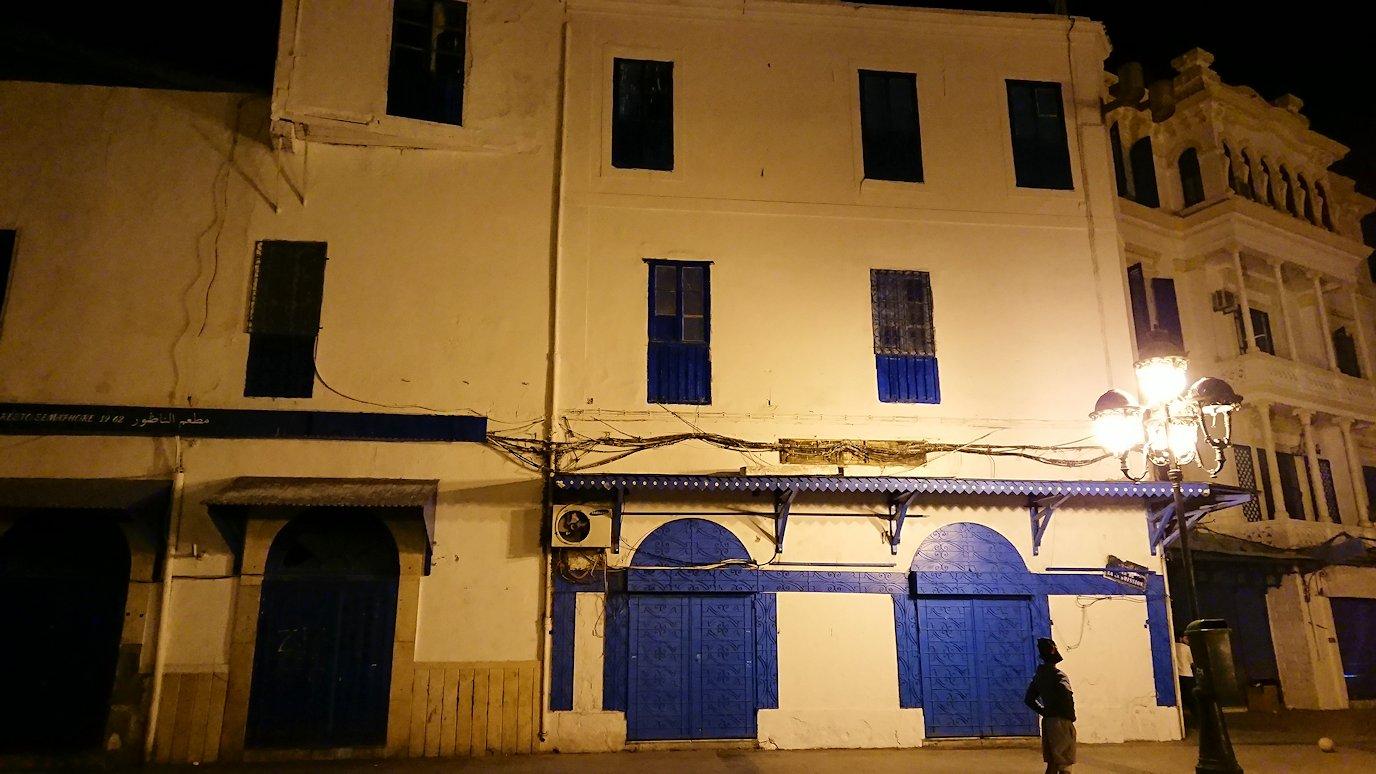 チュニジア:チュニスの夜を散策する7