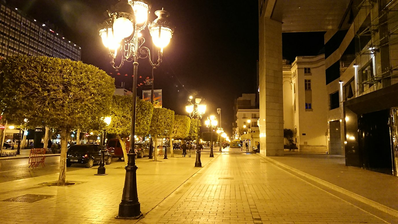 チュニジア:チュニス最後の夜を満喫