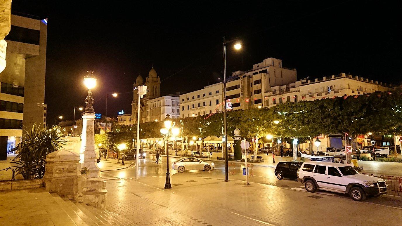 チュニジア:チュニス最後の夜を満喫2