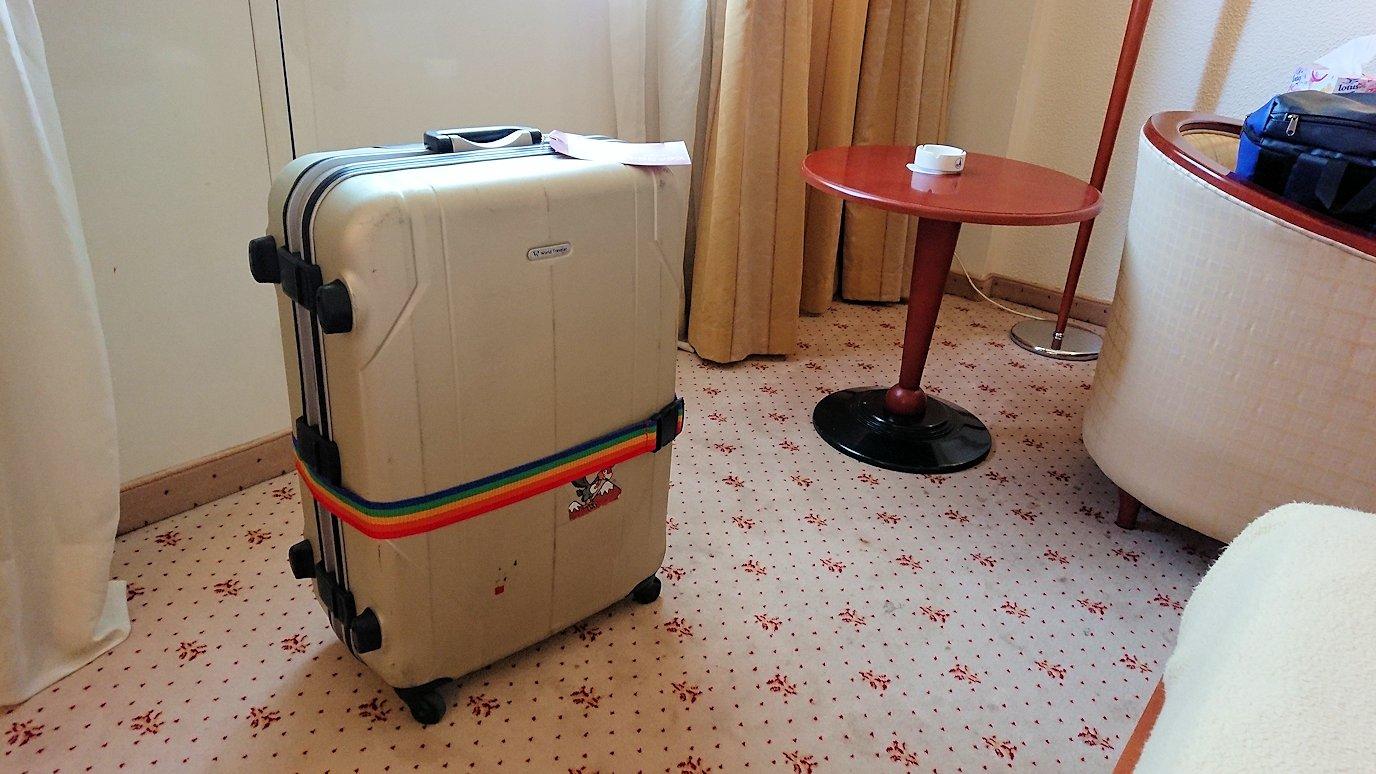 チュニジア:チュニスでホテルをチェックアウトする1