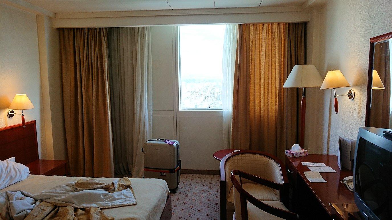 チュニジア:チュニスでホテルをチェックアウトする2