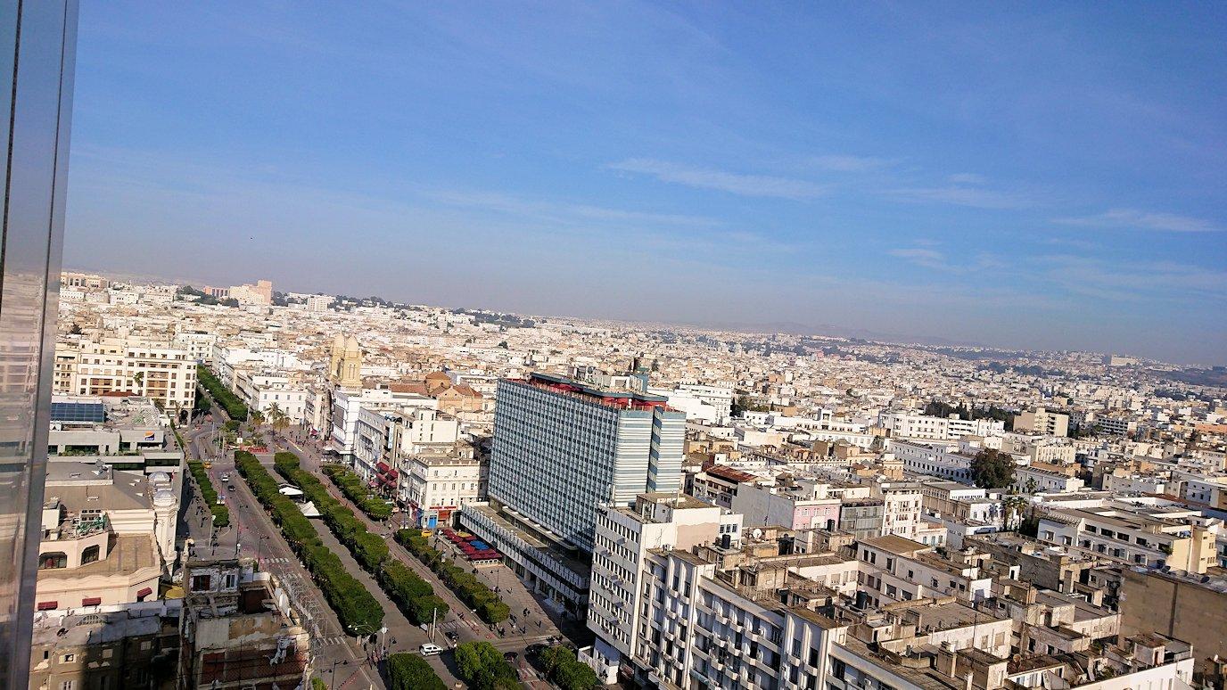 チュニジア:チュニスでホテルをチェックアウトする3