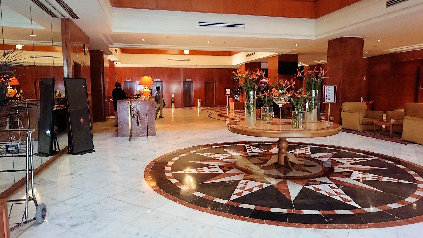チュニジア:チュニスでホテルをチェックアウトする6