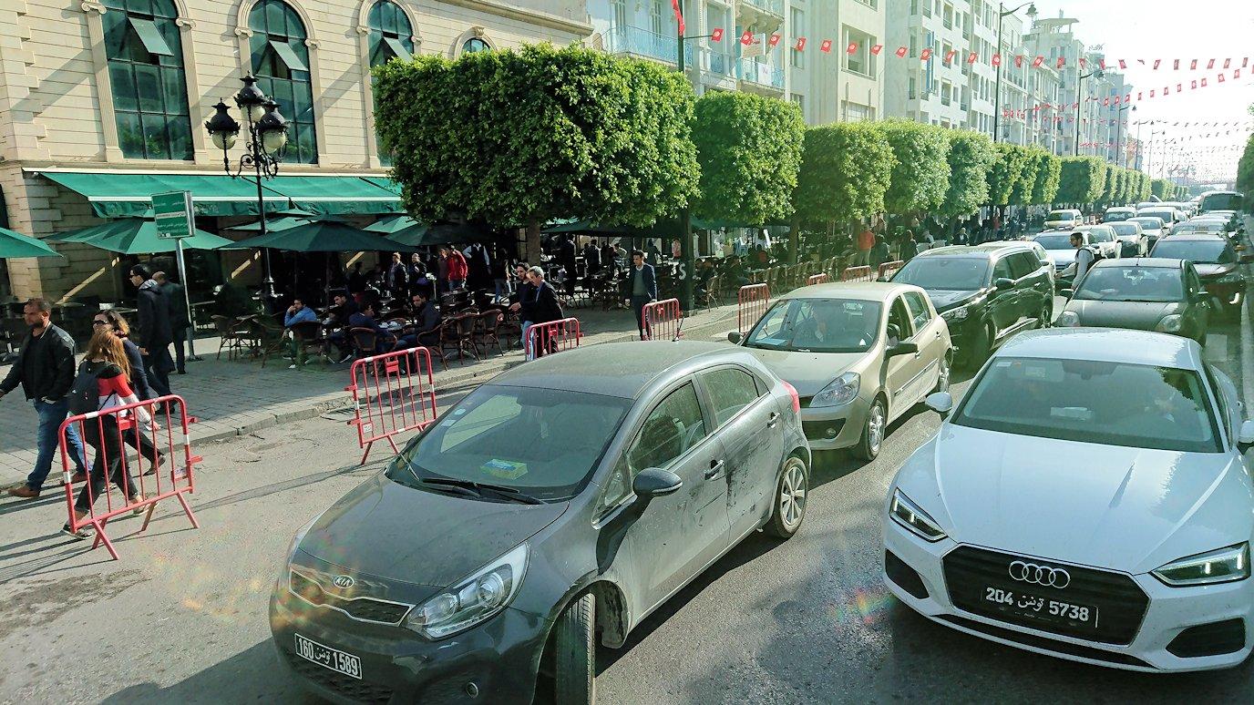 チュニジア:チュニスでホテルをチェックアウトする8