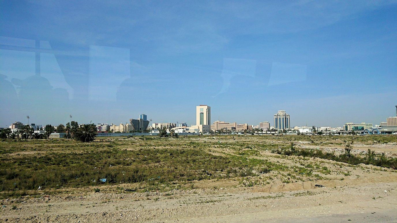 チュニジア:チュニスからカルタゴ遺跡に移動する2
