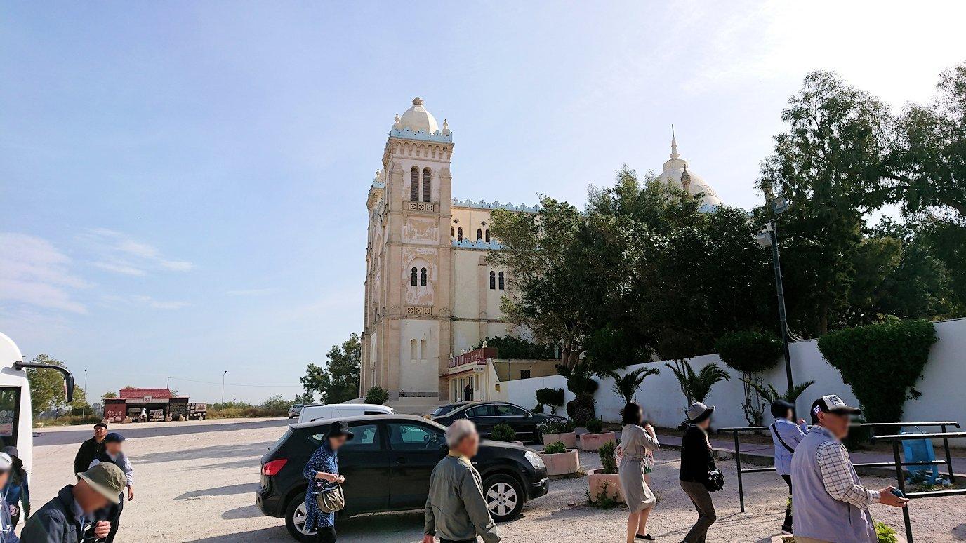 チュニジア:チュニスからカルタゴ遺跡に移動する9