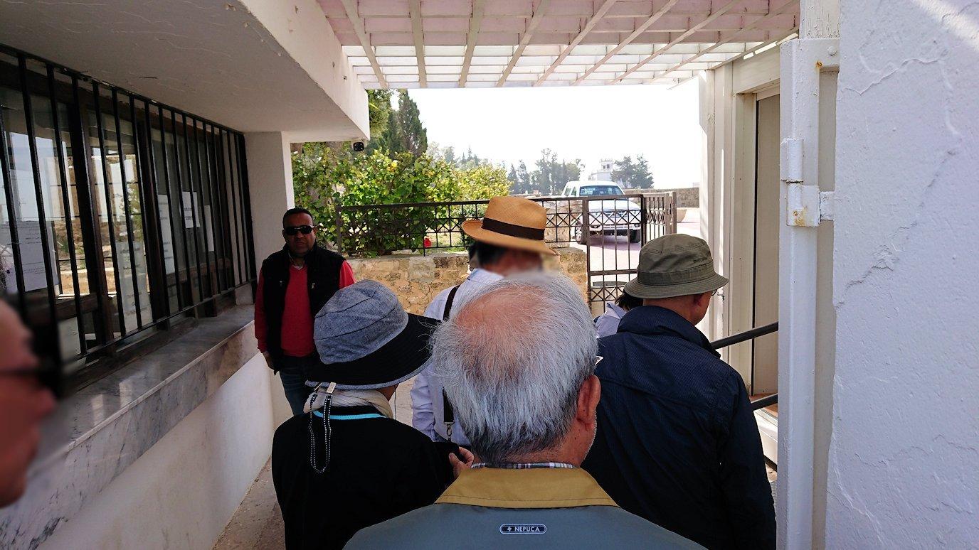 チュニジア:カルタゴ遺跡のビュルサの丘から観光開始4