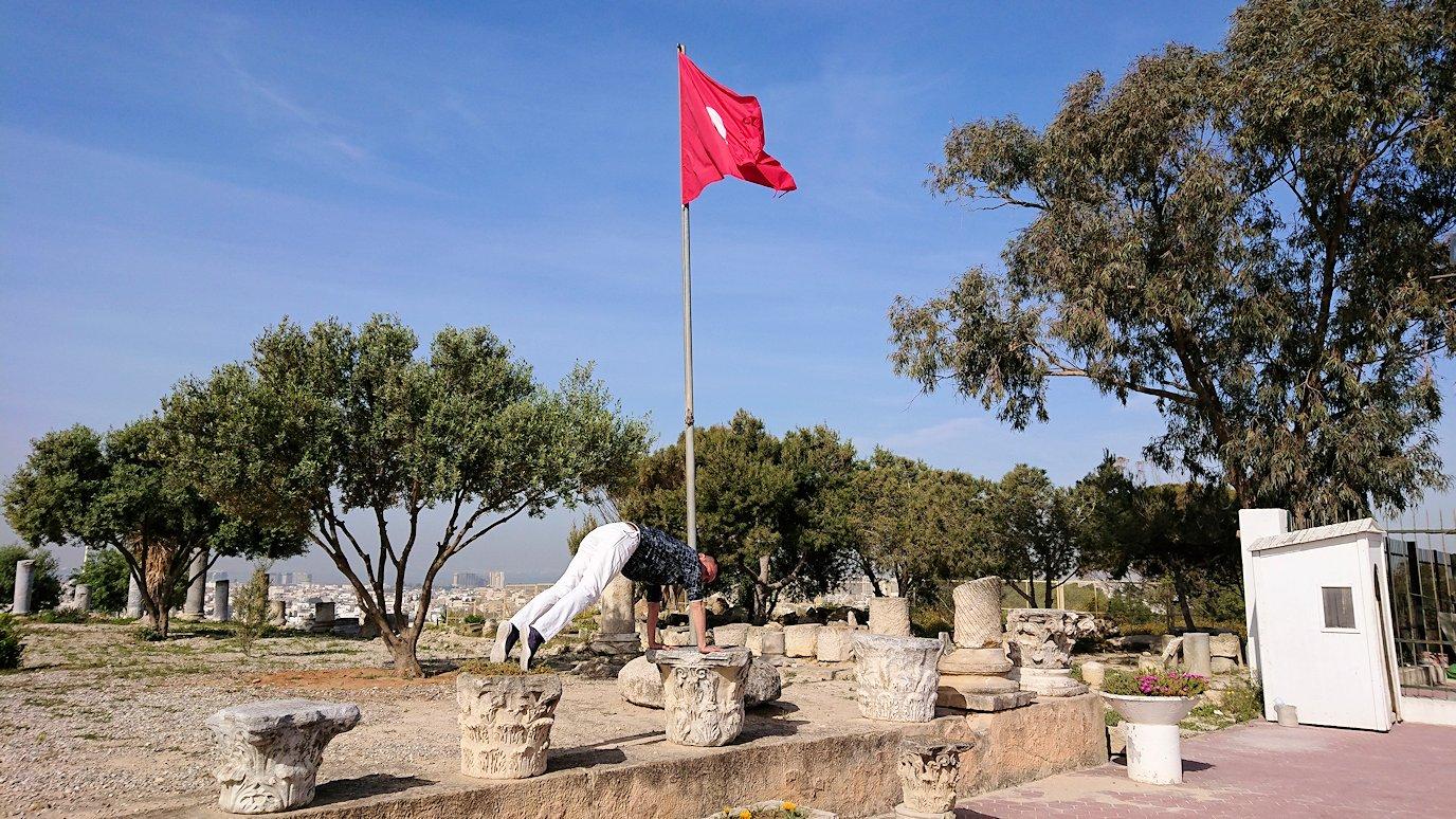チュニジア:カルタゴ遺跡のビュルサの丘から観光開始7