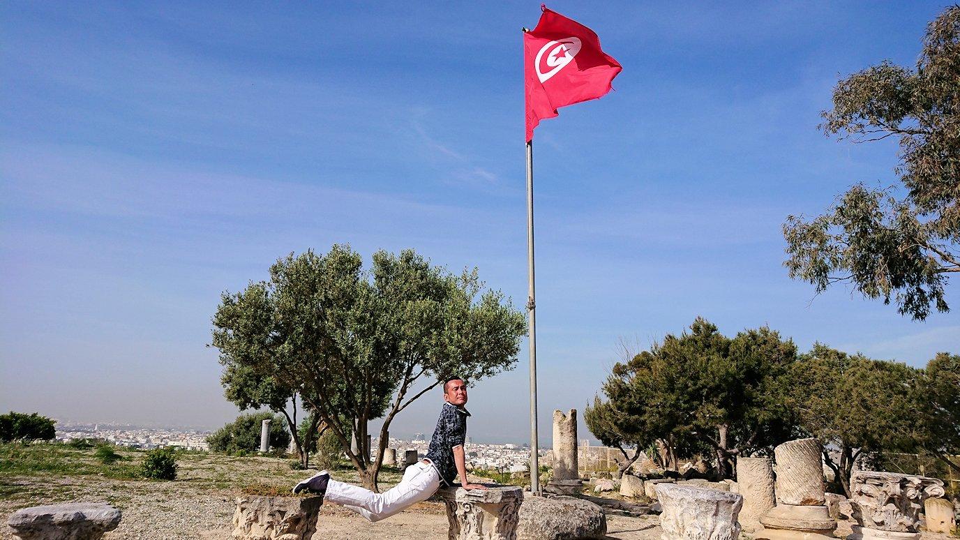 チュニジア:カルタゴ遺跡のビュルサの丘から観光開始8