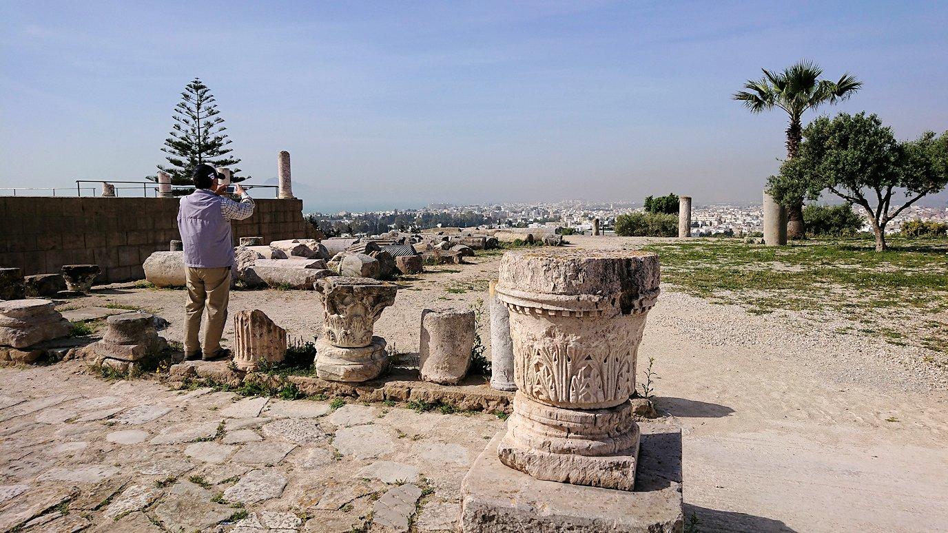 チュニジア:カルタゴ遺跡のビュルサの丘から観光開始9