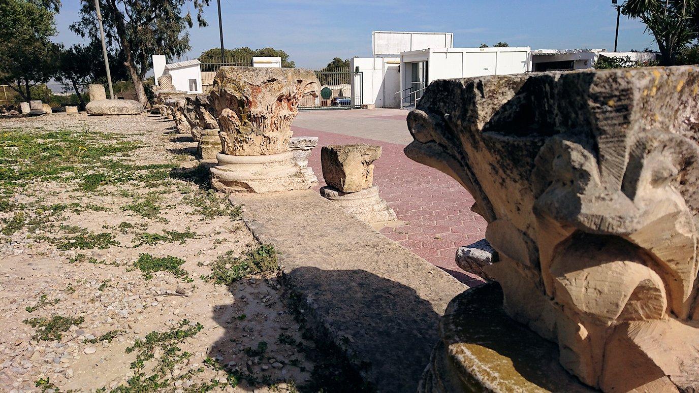 チュニジア:カルタゴ遺跡のビュルサの丘の中に進んで行く5